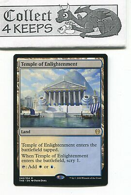 Temple of Enlightenment Promo Pack Non-Foil Theros Beyond Death Rare Near Mint
