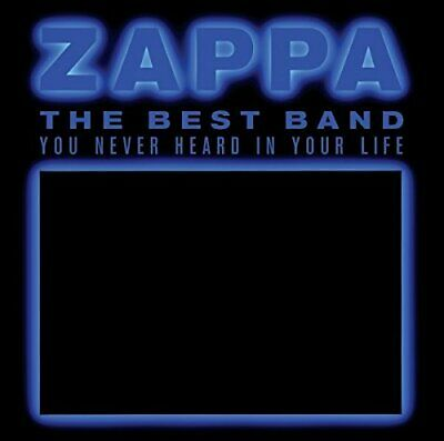 Frank Zappa - Best Band You Never Heard In Your Life - Double CD - New