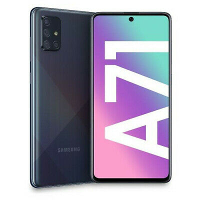 Smartphone Samsung Galaxy A71 Prism Crush Black 128 GB Dual Sim Fotocamera 64 MP