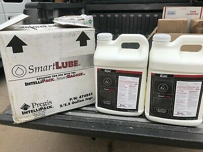 2 x 2.5 Gallons Pregis Intellipack Smart Lube Smartlube 474843