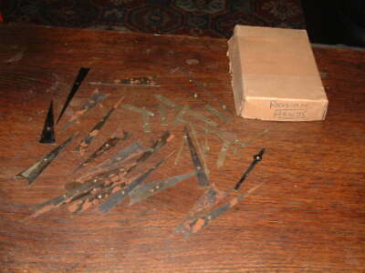 VINTAGE JOB LOT of JEWELLERS WATCHMAKERS RUSSIAN HANDS FOR CLOCKS