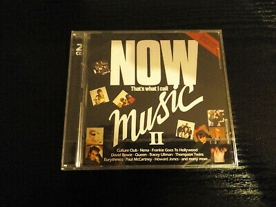 NOW THAT'S WHAT I CALL MUSIC II (2) (2CD Album) ORIGINAL NEW AND SEALED