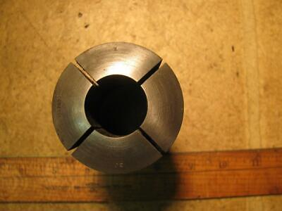 "Hardinge 3J 1"" Fractional Smooth Round Collet without Internal Threads"