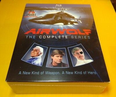 Airwolf: The Complete Series (Blu-ray Boxset, 14-Disc Set)NEW-Free Shipping