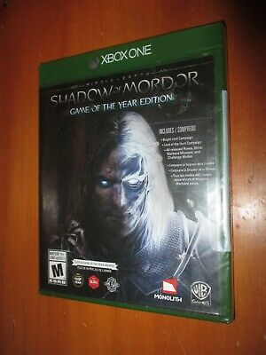 Middle-earth: Shadow of Mordor - Game of the Year Edition (Xbox One) BRAND NEW!
