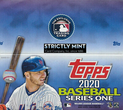 2020 Topps Baseball Series One Factory Sealed Retail Box 24 Packs 384 Cards AUTO
