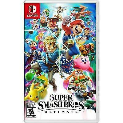 SUPER SMASH BROS. ULTIMATE NINTENDO SWITCH Brand New Factory Sealed USA