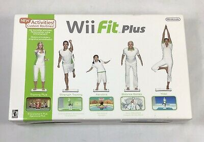 Nintendo Wii Fit Plus With Balance Board and Game Bundle