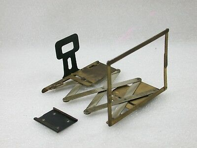 Vintage Collapsible Brass Sports / Speed finder, Flash Shoe Mounted