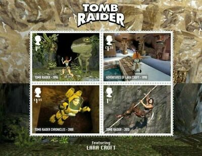 GB 2020 Commemorative Stamps~Video Games~M/S~Unmounted Mint Set~ UK Seller