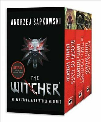 The Witcher Boxed Set: Blood of Elves, the Time of Contempt, Ba... 9780316438971