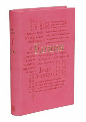 NEW Mansfield Park by Jane Austen Faux Leather Word Cloud Edition