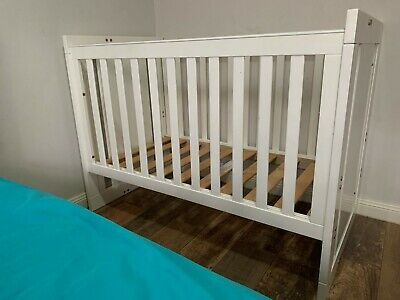 Gro-Time Baby/Toddler Cot White