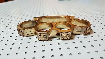 Choppers Gold (Brass Knuckles, Tirapugni Da Collezione)