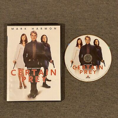 Certain Prey (DVD, 2011) Mark Harmon