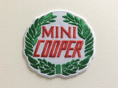 A042 Patch Ecusson Mini Cooper 7,5 Cm