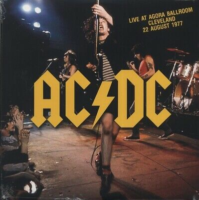 AC/DC Live At Agora Ballroom LP ~ Cleveland 8/22/77 ~ Bon Scott ~ Brand New!!!
