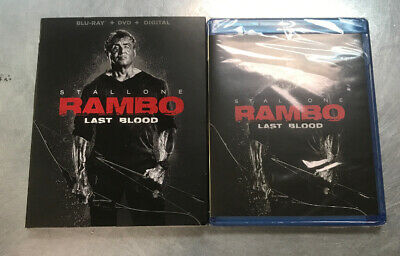 Rambo: Last Blood (Blu-ray and DVD, 2019) Sylvester Stallone