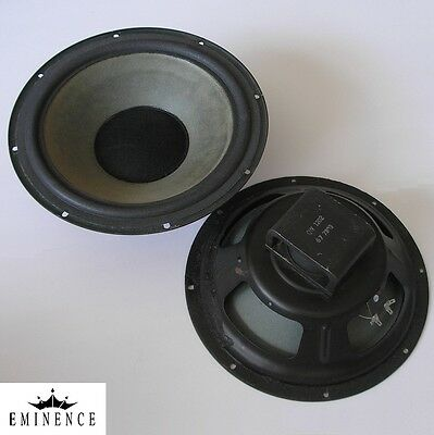 """EMINENCE 12"""" Alnico magnet woofers, USA 1973—new foam surrounds—excellent cond."""
