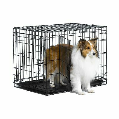 Extra Large Dog Crate Kennel  XL Huge Folding Pet Wire Cage Giant Size Breed
