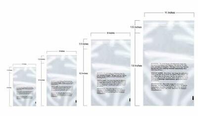Retail Supply Co Poly Bags with Suffocation Warning 6x9, 8x10, 9x12, 11x14 - Com