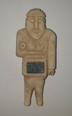 A very Unique Beautiful Afghan soft stone idol/statue