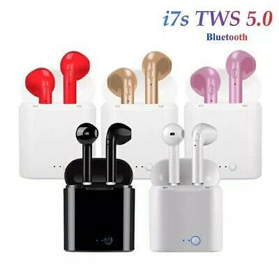 i7S TWS Bluetooth 5.0 Earphones Wireless Headphones Earbuds For iPhone Android