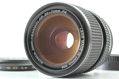 [Rare Mint!] Konica Zoom Hexanon AR 35-70mm F4 Lens w/ Filter From Japan