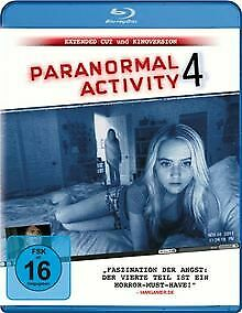 Paranormal Activity 4 (Extended Cut) [Blu-ray] von Joost,... | DVD | Zustand gut
