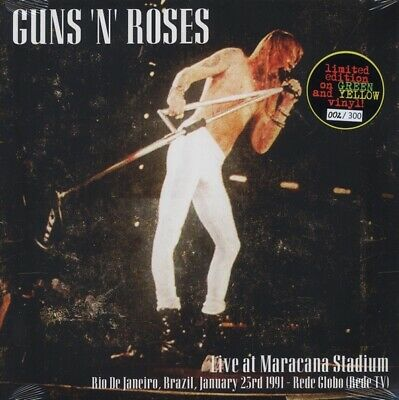 Guns N' Roses Live At Maracana Stadium 2-LP ~ Colored Vinyl ~ Factory Sealed!