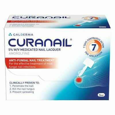 Galderma Curanail 5% Fungal Nail Treatment - 3ml