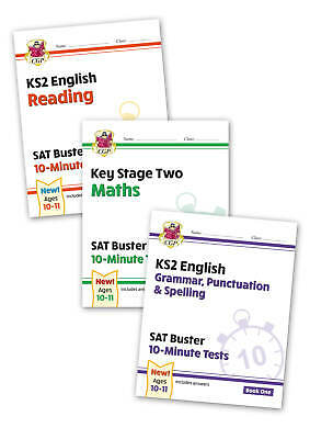 KS2 Maths & English SAT Buster:10-Minute Tests for the 2020 Exams Book 1 CGP