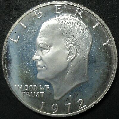 1972-S 40% Silver Proof Eisenhower Dollar Coin