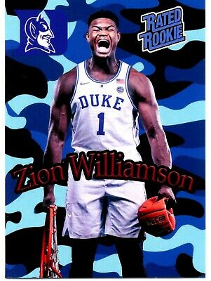 Zion Williamson New Orleans Pelicans # 1 Draft Pick 2019 Rated Rookie