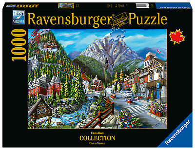 Ravensburger Puzzle*1000 T*Canadian*Welcome To Banff*Rarität*Ovp
