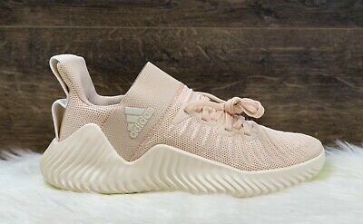 adidas AlphaBOUNCE Trainer Womens Linen Training Shoes Sneakers DB3349 Size 8.5