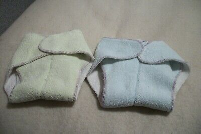 Unbranded  diaper's with thick center - set of 2