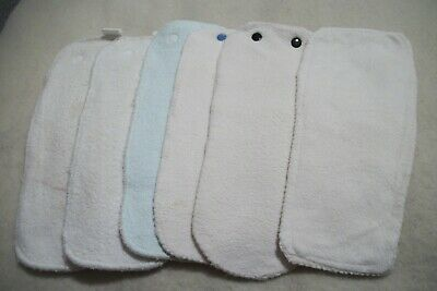 """""""Kissa's"""" and other unbranded  diaper system liners - set of 6"""