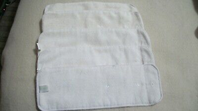 """bumgenius"" diaper system liners -5 pre-owned Large"