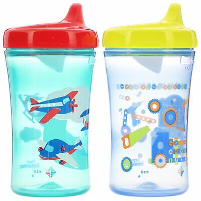 NUK Gerber Graduates, 12+ Months, Boy, 2 Cups, 10 oz, Colors and Styles May Vary