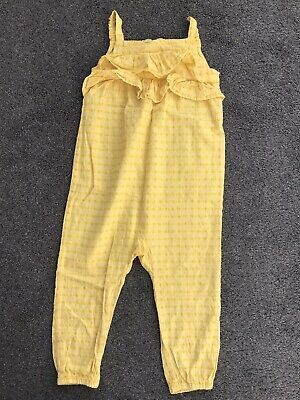 h m baby girl 2 - 3 Years Yellow Summer Playsuit Jumpsuit