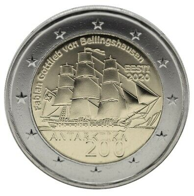 2 Euro ESTONIA 2020 SCOPERTA DELL'ANTARDIDE - 2 € commemorativo