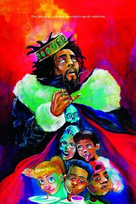 J. Cole KOD Album Cover Poster 24 X 36