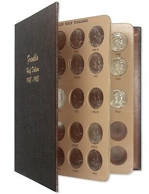 1964 - 2011 Kennedy Half Dollars Dansco Coin Set Proof Only Issues Incomplete