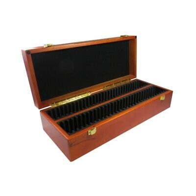 Graded Coin Storage Box Wooden Display Case for 60 PCGS NGC ANACS Slabs