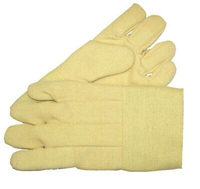 """High Temperature Gloves Heat Resistant Furnace Safety Gloves Smelting Pair 23/"""" L"""