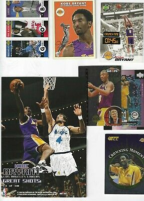 Kobe Bryant Rookie plus  5 cards & Poster Basketball  Card Lot