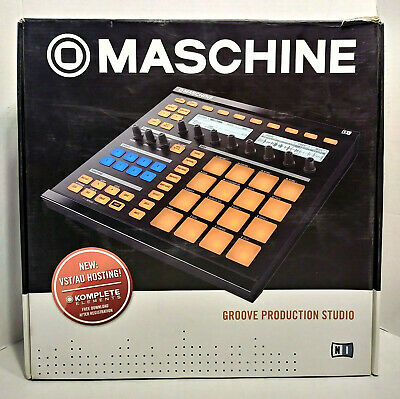 Native Instruments Maschine Groove Production Studio Tested Working