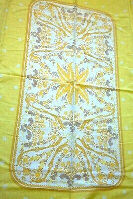 Vintage Floral Tablecloth Early