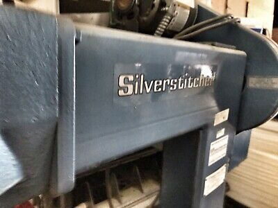 ISP Model HF16A Silver Stitcher Post Type Box Stitcher W/Dayton 1/3Hp 1Ph Drive